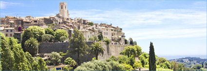 The French Riviera, </br>Provence and the Alps
