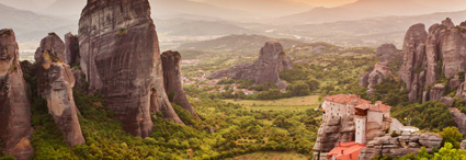 Greece: The continent </br>and the Meteora