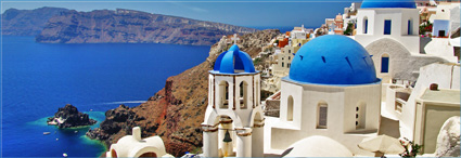 Greece: The continent </br> and Santorini Island