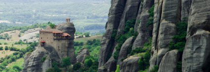 Greece: The continent, the Meteora and Santorini Island