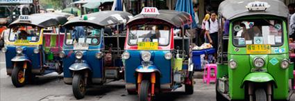 Bangkok, route<br>to the kingdom of Cambodia