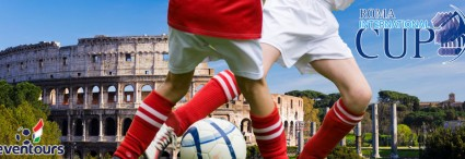 Tournament soccer :<br>Roma International Cup, Italy