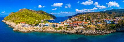La Grèce continentale et l'île de Kefalonia