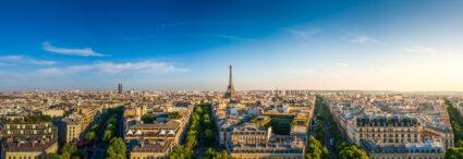 Paris et Londres,</br>les grandes capitales