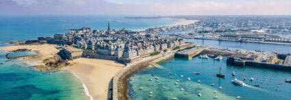 Normandie, Bretagne, </br> Loire et Paris